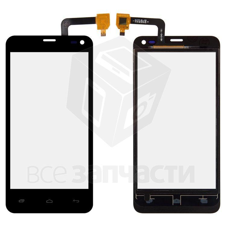 Сенсорный экран для мобильного телефона Fly IQ4416, copy, черный