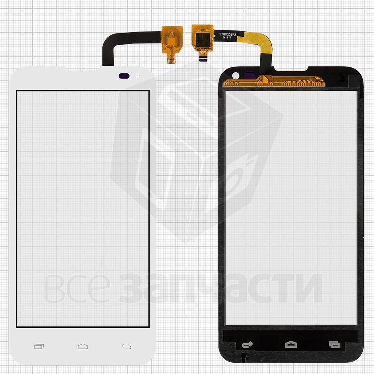 Сенсорный экран для мобильного телефона Fly IQ4415, original, белый, #5831001640