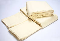 Постельное белье для гостиниц Lotus сатин классик ваниль семейного размера (Турция)