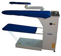 Консольный гладильный стол с поворотной ручкой и вакуумным отсосом Malkan EKO 101 K 220V (380V)