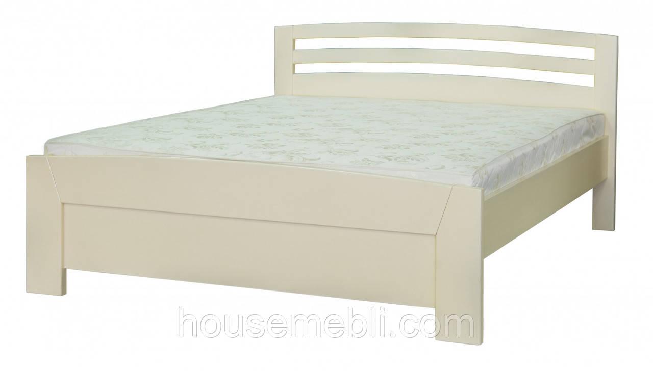 Кровать деревянная Рондо белый