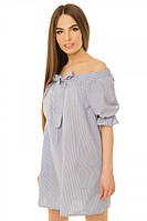 Платье женское с открытыми плечами S-L размеры SV 17-26-4p