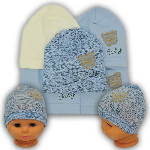 Детские шапки из трикотажа, Y108