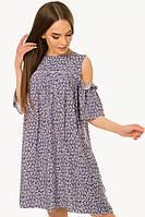 Платье женское с открытыми плечами S-М размеры SV 17-31-4c