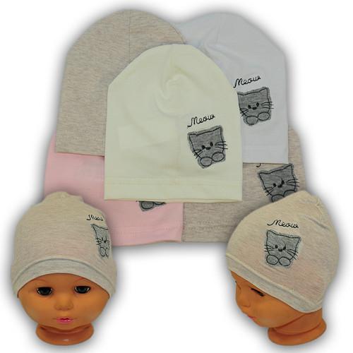 Детские шапки из трикотажа, Y110