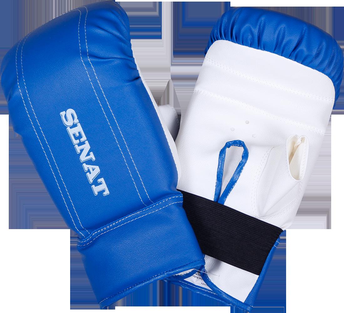 Перчатки снарядные, сине-белые - Спортивный интернет-магазин EXFIT в Харькове
