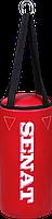 Мешок боксерский 40х18, кожзам, красный