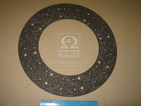 Накладка диска сцепления 395x240x3,5 (фередо сверленый) (RIDER) RD 054.329.074
