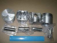 Поршень цилиндра ТАВРИЯ,СЛАВУТА дв.1200 см3 (с пальцем и кольц.стоп.) (Р2) D=72,5 мм (4 шт.) A-2457-1004015-Р2