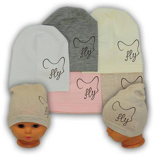 Детские шапки из трикотажа, Y112