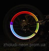 Подсветка колёс 7 цветов в1-мигает.