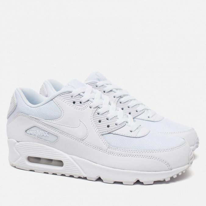 0a6846a6 Кроссовки Nike Air Max 90 Оригинал White Essential белые  женские/подростковые, цена 2 299 грн., купить в Днепре — Prom.ua  (ID#312592086)