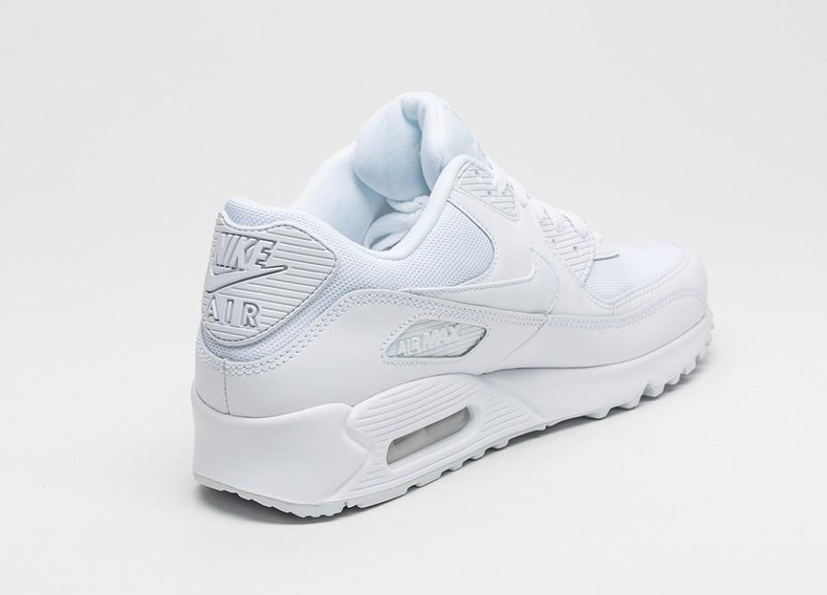 ... Кроссовки Nike Air Max 90 Оригинал White Essential белые  женские подростковые, ... 3b05e273180