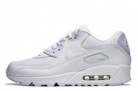 Кроссовки Nike Air Max 90 Оригинал White Essential белые женские/подростковые