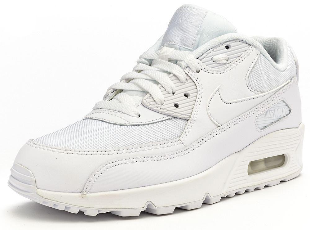 b4839c0a Кроссовки Nike Air Max 90 Оригинал White Essential белые  женские/подростковые, ...
