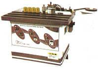 Кромкооблицовочный крайколичкувальний автомат MF-350 наносит клей на кромку и торец ДСП, 2 клей-вала