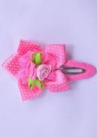 Заколка цветок с розами ярко розового цвета G60009-1