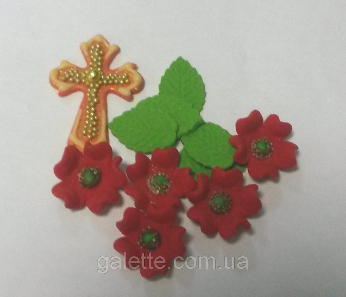 Набор Крестик с маком №32 Украса - 02742
