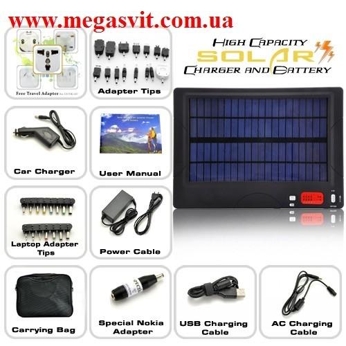 54000 мАч Универсальное солнечное зарядное устройство для ноутбуков + мобильный телефон + игровые ко