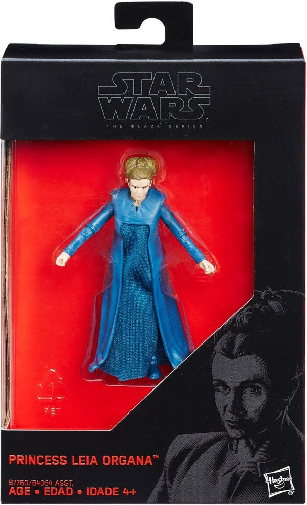"Фигурка принцесса Лея Органа - Princess Leia, ""The Black Series"", Hasbro"