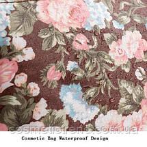 Косметичка женская для сумки NATURAL STYLE Hand Made с цветочным принтом 532k 21*13*6,5 см, фото 3
