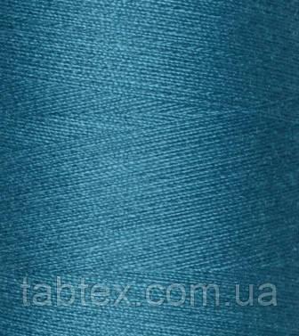 """Швейные нитки №40/2 """"TF"""" №269 4000 ярд (бирюзовая/синяя)"""
