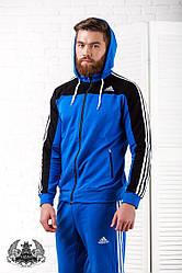 Мужской спортивный костюм Adidas. Размер 46-52. Материал: турецкая двух нитка.