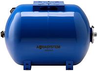 Гидроаккумулятор AQUASYSTEM VAO 35 литра (горизонтальный)