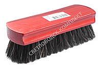 Щетка Тарри для полировки, конский волос, С-11-52В, цв. красный