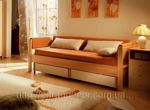 Кровать-диван деревянная 900*2000