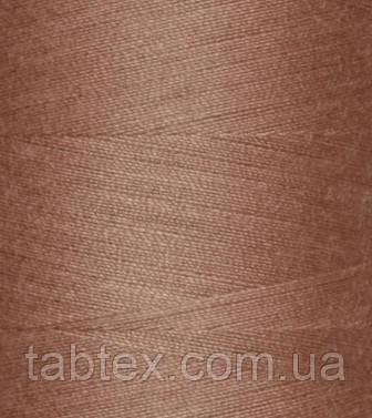 """Швейные нитки №40/2 """"TF"""" №465 4000 ярд (бежевая/коричневая)"""