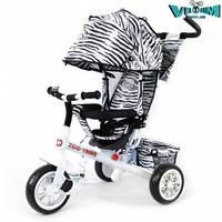 Детский трехколесный велосипед Zoo-Trike  BT-CT-0005 White
