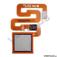 Шлейф Xiaomi Redmi 3S, серебряный, с сканером отпечатка пальца