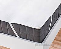 Наматрасник непромокаемый на резинках для детской кроватки Ютек Tencel 60х120 см