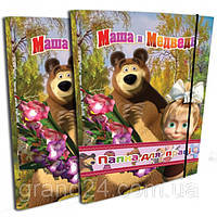 Папка для труда Маша и Медведь Ітем, фото 1