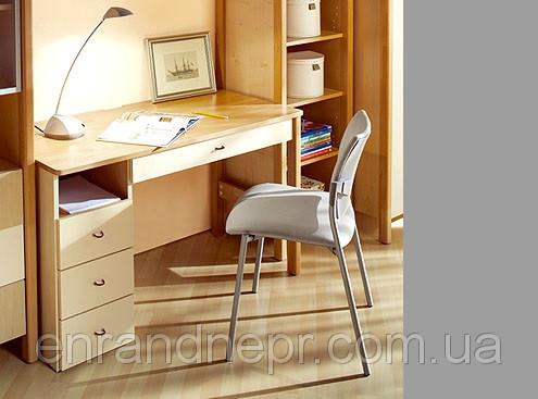 Стол письменный Эльф 10+ с тумбой