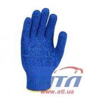"""Перчатка синяя с логотипом """"DOLONI"""" ПВХ DOLONI (646)"""