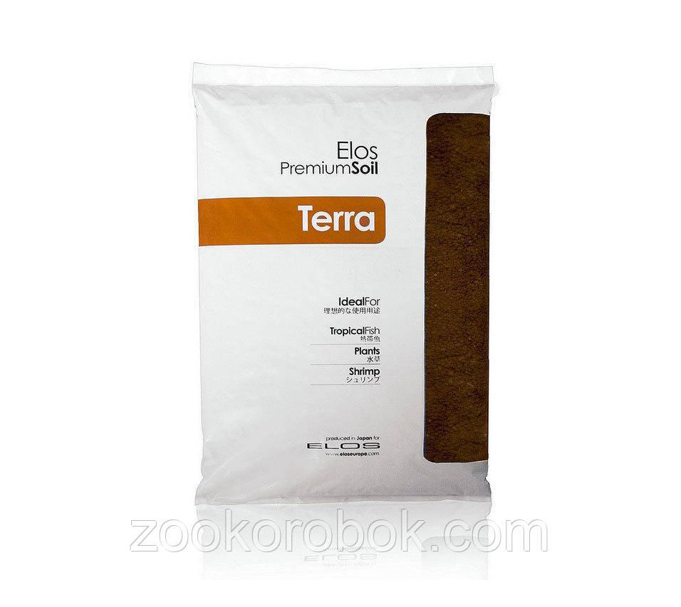 """Грунт питательный, коричневый Elos Terre Brown Medium, 5 л - Интернет-магазин """"ЗооКоробок"""" в Харькове"""