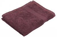 Махровое полотенце сиреневое 40х70