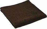 Махровое полотенце коричневое 40х70