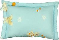 Подушка детская голубая 40х60