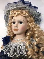 """Фарфоровая, коллекционная кукла, сувенирная 50 см """" Александра """", фото 3"""