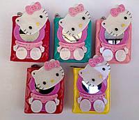 """Детский кошелек для девочки  """"Нello Kitty"""" с зеркальцем"""
