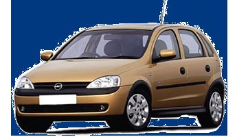 Opel Corsa / Combo 00-03-10 кузов и оптика