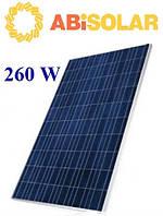 Солнечные батареи 260 Вт ABi-Solar (поли)