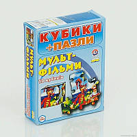 "Гр Кубики ""Мультфильмы"" 2582 (47) ""ТЕХНОК"""