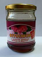 Фитосироп из лепестков розы крымской на фруктозе 200мл