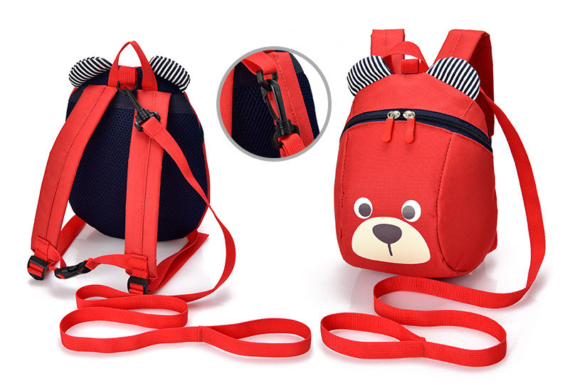 Милые тканевые рюкзаки bear мишка