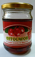 Фитосироп из плодов кизила на фруктозе 200мл