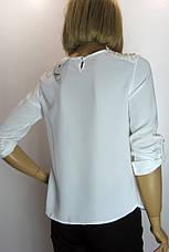 Блузка  белая Vokalis, фото 2